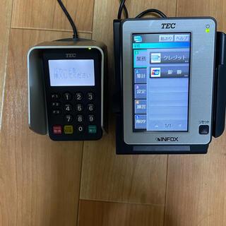★TEC/東芝テック カード決済ターミナル EFT-POS/CT-4100(店舗用品)