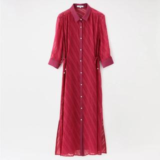 ラブレス(LOVELESS)の◆◆はっ水シアーシャツドレス LOVE LESS(ロングワンピース/マキシワンピース)