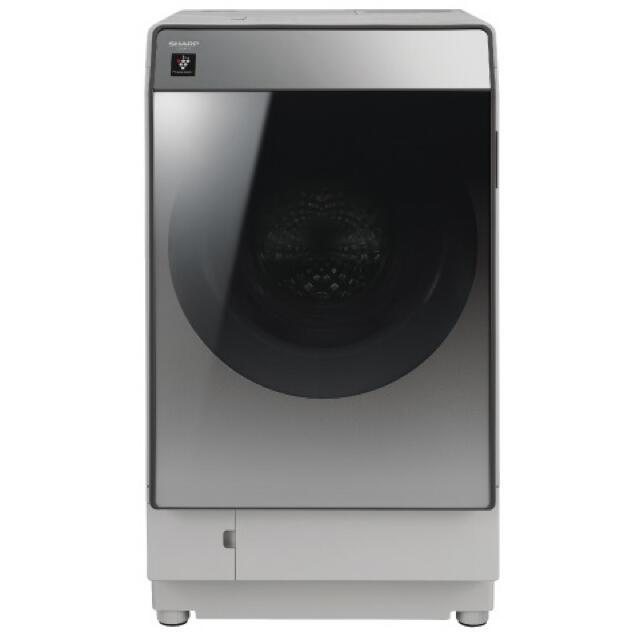 SHARP(シャープ)の5年保証付! SHARP ドラム式洗濯乾燥機【ES-U111-TL】 スマホ/家電/カメラの生活家電(洗濯機)の商品写真
