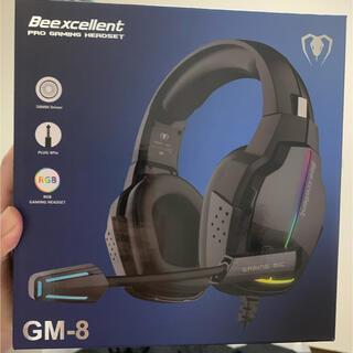プレイステーション4(PlayStation4)のゲーミングヘッドセット Beexcellent ヘッドホン PS4(ヘッドフォン/イヤフォン)