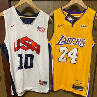 NIKE - NIKE コービー・ブライアント USA NBAレイカーズ 2枚ジャージセット