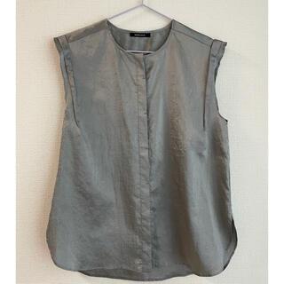 ローズバッド(ROSE BUD)のROSEBUD サテントップス(カットソー(半袖/袖なし))