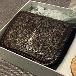 ガンゾ(GANZO)のワイルドスワンズ ガルーシャ 新品未使用 スターマーク チョコ パーム 希少(折り財布)