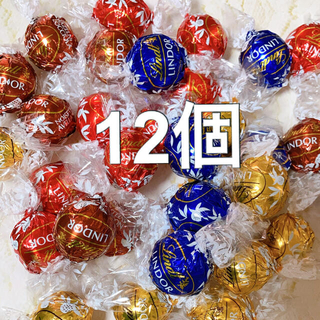 リンツ(Lindt)のコストコ リンツ リンドールチョコ 12個(菓子/デザート)