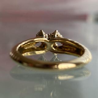 クリスチャンディオール(Christian Dior)のクリスチャンディオール750天然ダイヤモンド0.50ctリング(リング(指輪))