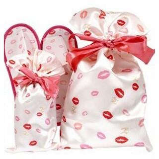 Maison de FLEUR - メゾンドフルール 花嫁スリッパ&リボン巾着 3点セット 付録 新品未使用