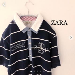 ZARA - ZARA ポロシャツ  Mサイズ ザラ