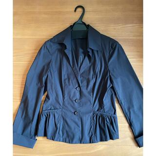 エンスウィート(ensuite)の値下げ☆エンスウィート ブラックジャケット(テーラードジャケット)