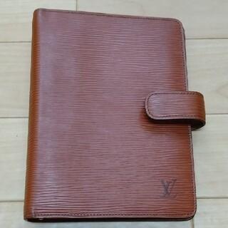 ルイヴィトン(LOUIS VUITTON)の【美品】ヴィトン システム手帳カバー(手帳)