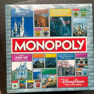 ディズニー(Disney)の希少!新品未使用 アメリカディズニーパーク特別版 monopoly 人生ゲーム(人生ゲーム)