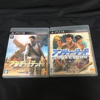 プレイステーション3(PlayStation3)のPS3 アンチャーテッド 2本セット(家庭用ゲームソフト)