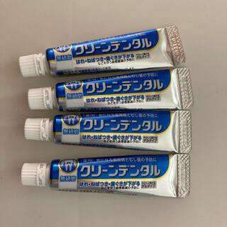 ダイイチサンキョウヘルスケア(第一三共ヘルスケア)のクリーンデンタル 無研磨(歯磨き粉)