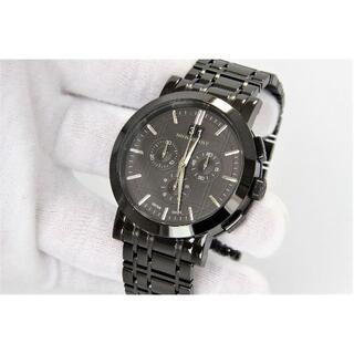 バーバリー(BURBERRY)のバーバリー BURBERRY クロノ 男性用 腕時計 電池新品 s1257(腕時計(アナログ))