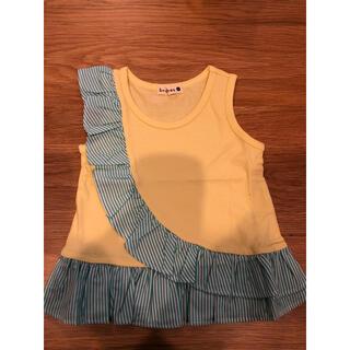 ブランシェス(Branshes)のブランシェス・女の子タンクトップ80 イエロー❗️新品未使用(Tシャツ)