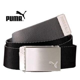 プーマ(PUMA)のプーマ PUMA リバーシブルWebbing  Golf Belt  ブラック (ベルト)
