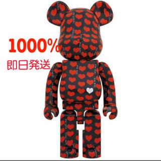 メディコムトイ(MEDICOM TOY)のBE@RBRICK Black Heart 1000%(キャラクターグッズ)