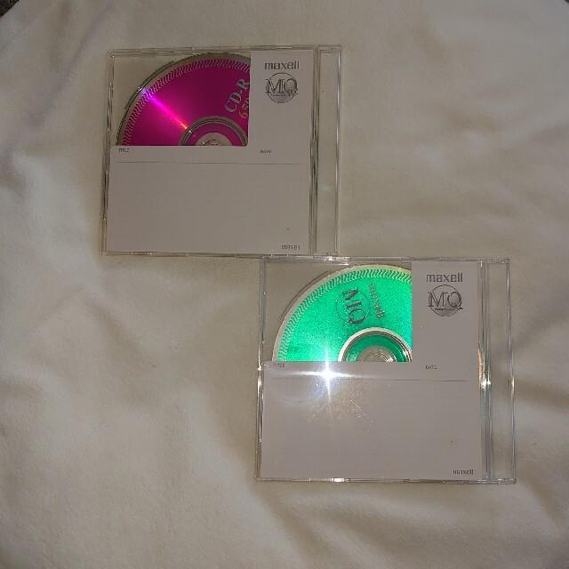 maxell(マクセル)のmaxell CD-R650 二枚セット エンタメ/ホビーのCD(その他)の商品写真