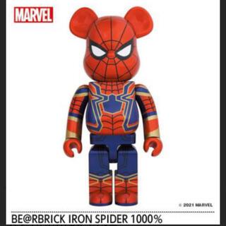 メディコムトイ(MEDICOM TOY)のBE@RBRICK IRON SPIDER 1000% ベアブリック(キャラクターグッズ)