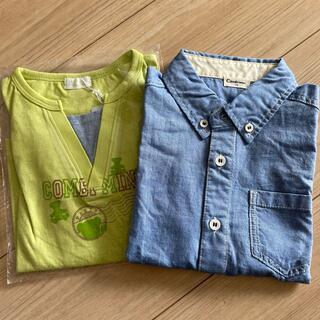 コンビミニ(Combi mini)のコンビミニ 半袖シャツ2枚セット(Tシャツ/カットソー)