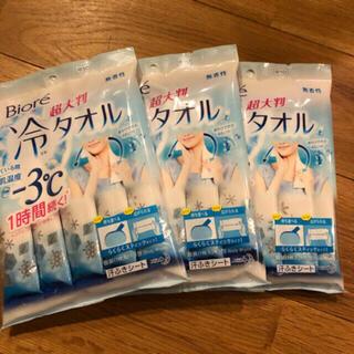 ビオレ(Biore)のビオレ 冷シート 冷タオル 無香性(制汗/デオドラント剤)