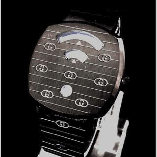 グッチ(Gucci)の【クーポン❣️】GUCCIグッチ腕時計 グリップ  ブラック系【超レア出品】(腕時計(アナログ))