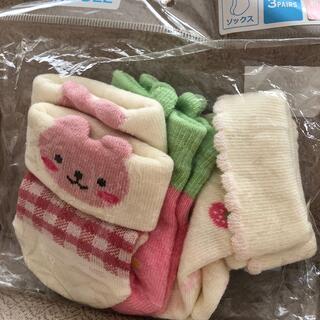 ニシマツヤ(西松屋)の新生児☆女の子の靴下セット☆(靴下/タイツ)