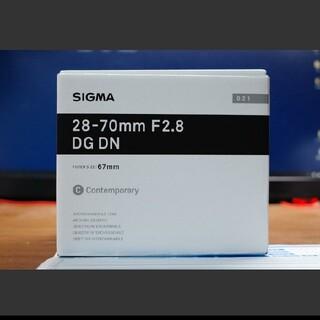 シグマ(SIGMA)の【新品】Sigma 28-70mm F2.8 DG DN Eマウント用(レンズ(ズーム))