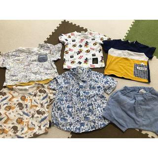 アンパサンド(ampersand)の値下げ‼️ 夏服 70センチ セット(Tシャツ)