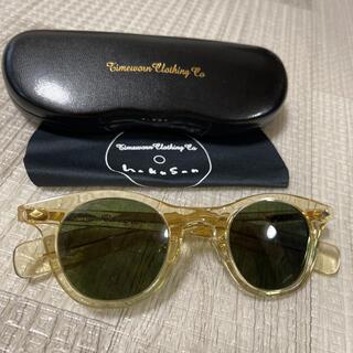 テンダーロイン(TENDERLOIN)の希少品! AtLast & Co. 白山眼鏡 サングラス キハク グリーン 緑(サングラス/メガネ)