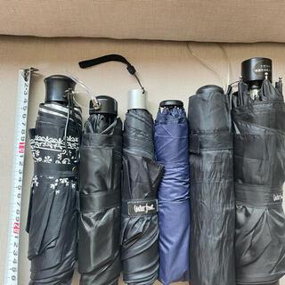折り畳み傘 6本 セット販売  日傘1本 カバーあり。  雨傘5本 (傘)