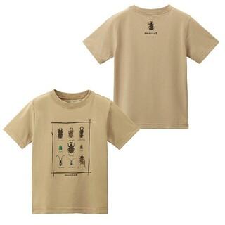 モンベル(mont bell)のmont-bell キッズ 昆虫 Tシャツ 110(Tシャツ/カットソー)