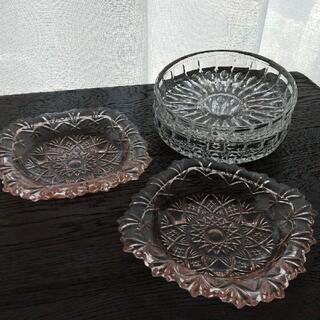 東洋佐々木ガラス - 昭和レトロ ガラス皿