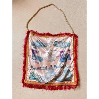 アッシュペーフランス(H.P.FRANCE)のトートバッグ スカーフ柄(トートバッグ)