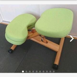 宮武製作所 木製バランスチェアー 矯正椅子 別売りクッション付き(その他)