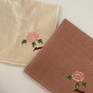 ローラアシュレイ(LAURA ASHLEY)のマニーローズ 布巾2点 (収納/キッチン雑貨)