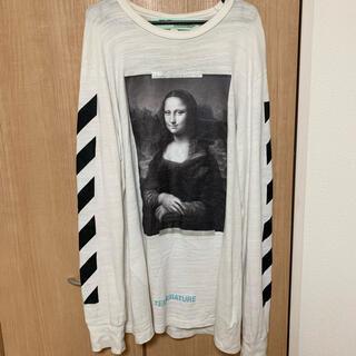 オフホワイト(OFF-WHITE)のOff-White モナリザ ロンT(Tシャツ/カットソー(七分/長袖))