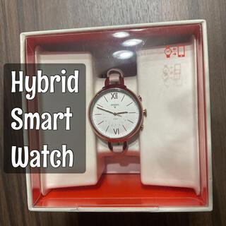 フォッシル(FOSSIL)のfossil ハイブリッドスマートウォッチ レディース(腕時計)