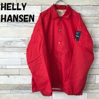 ヘリーハンセン(HELLY HANSEN)の【人気】ヘリーハンセン コーチジャケット レッド(ナイロンジャケット)