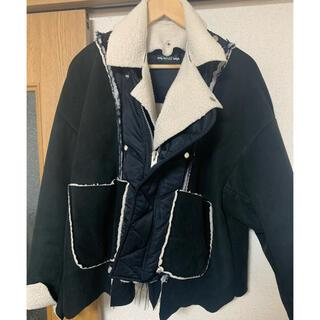 コムデギャルソン(COMME des GARCONS)のelephant TRIBAL fabrics ブルゾン(最終値下げ)(ブルゾン)