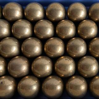 中古パチンコ玉 113玉 刻印なし ゴールド 金(パチンコ/パチスロ)