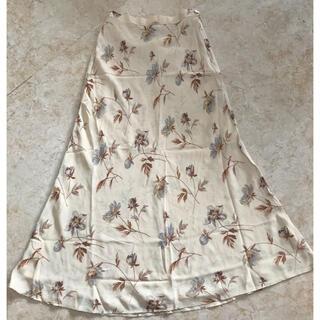 ラルフローレン(Ralph Lauren)の美品ラルフローレン、花柄ロングスカート、サイズ7号、S。RALPH LAUREN(ロングスカート)