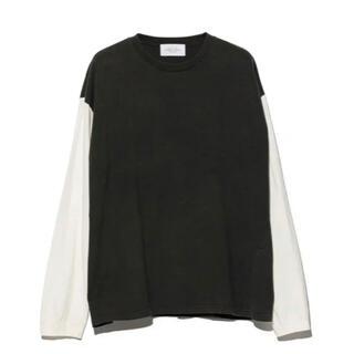 アンユーズド(UNUSED)のttt様専用 unused 21ss 2 tone long sleeve(Tシャツ/カットソー(七分/長袖))