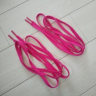コンバース(CONVERSE)のくつひも ピンク 長さ140cm コンバース 新品(その他)