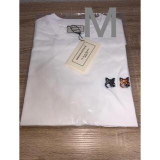 メゾンキツネ(MAISON KITSUNE')の新品 メゾンキツネ Tシャツ ザノースフェイス パタゴニア シュプリーム エイプ(Tシャツ/カットソー(半袖/袖なし))