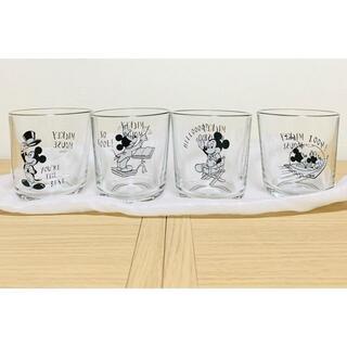 Disney - ミッキーフレンズ グラス4Pセット