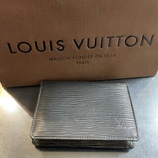 ルイヴィトン(LOUIS VUITTON)のルイヴィトン カードケース(パスケース/IDカードホルダー)