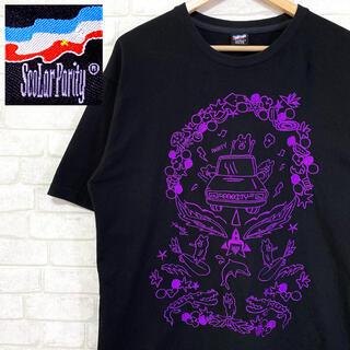 スカラー(ScoLar)のScolar Parity スカラーパリティ ビッグシルエット 伝説のくま 刺繍(Tシャツ/カットソー(半袖/袖なし))
