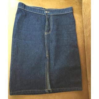 アールジーン(Earl Jean)のアールジーン デニムタイトスカート(ひざ丈スカート)