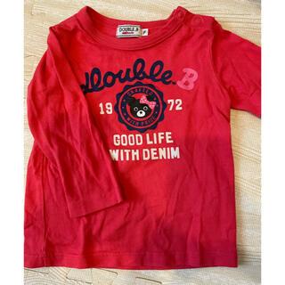 ダブルビー(DOUBLE.B)のミキハウス ダブルビー ロンT トップス 70-80cm(Tシャツ)