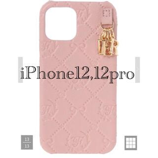 Maison de FLEUR - メゾンドフルール モノグラムアイフォン12/12Proケース iPhone12